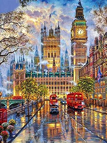 TTTTYYY Puzzle 1500 Teile -Big Ben- 1500 Teile Puzzle für Erwachsene Puzzle farbenfrohes Legespiel Impossible Puzzle
