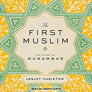 The First Muslim audiobook cover art