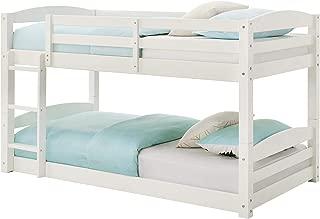 Max & Finn Bunk Bed, White, Black