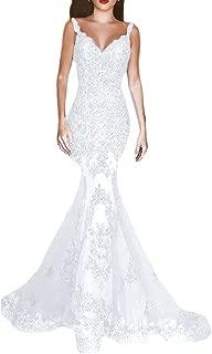 Women's Formal Sequin Mermaid Prom Dresses Long V-Neck Wedding Evening Pageant Dress EV44