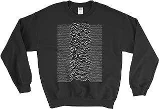 PixiePrints Joy Division - Unknown Pleasures Ian Curtis Punk Music Sweatshirt