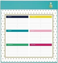 Simplified Weekly Planning Pad, 52 Weeks, Undated, 9-3/4
