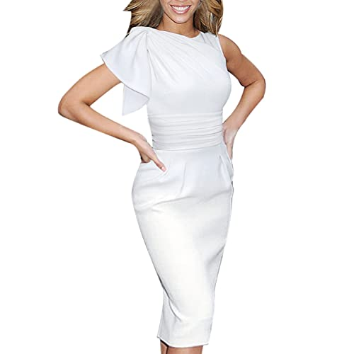 Winter White Dress: Amazon.com