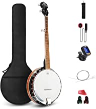 5 string open back banjo