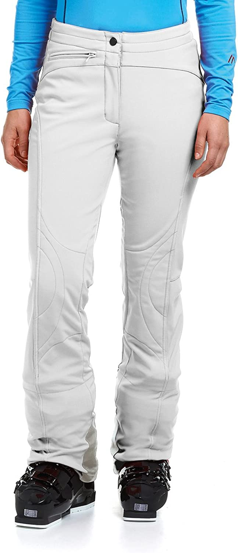 Maier Sports Marie Pantalon Softshell Pour Femme white white 42