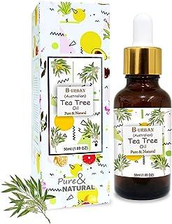 B-URBAN Tea Tree 100% Pure Australian Certified Non GMO Essential Oil 50ml