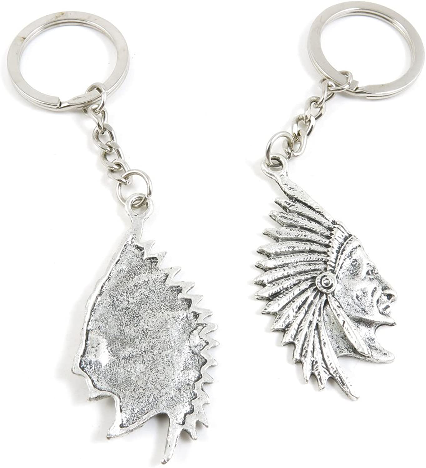 110 Pieces Fashion Jewelry Keyring Keychain Door Car Key Tag Ring Chain Supplier Supply Wholesale Bulk Lots F3BY2 Indian Tribe Avatar