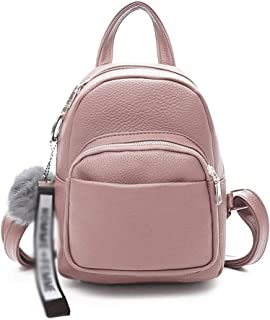 ABWYB Backpack-Women Backpack Purse Waterproof Anti-Theft Rucksack Lightweight Shoulder Bag (Color : Pink, Size : One Size)