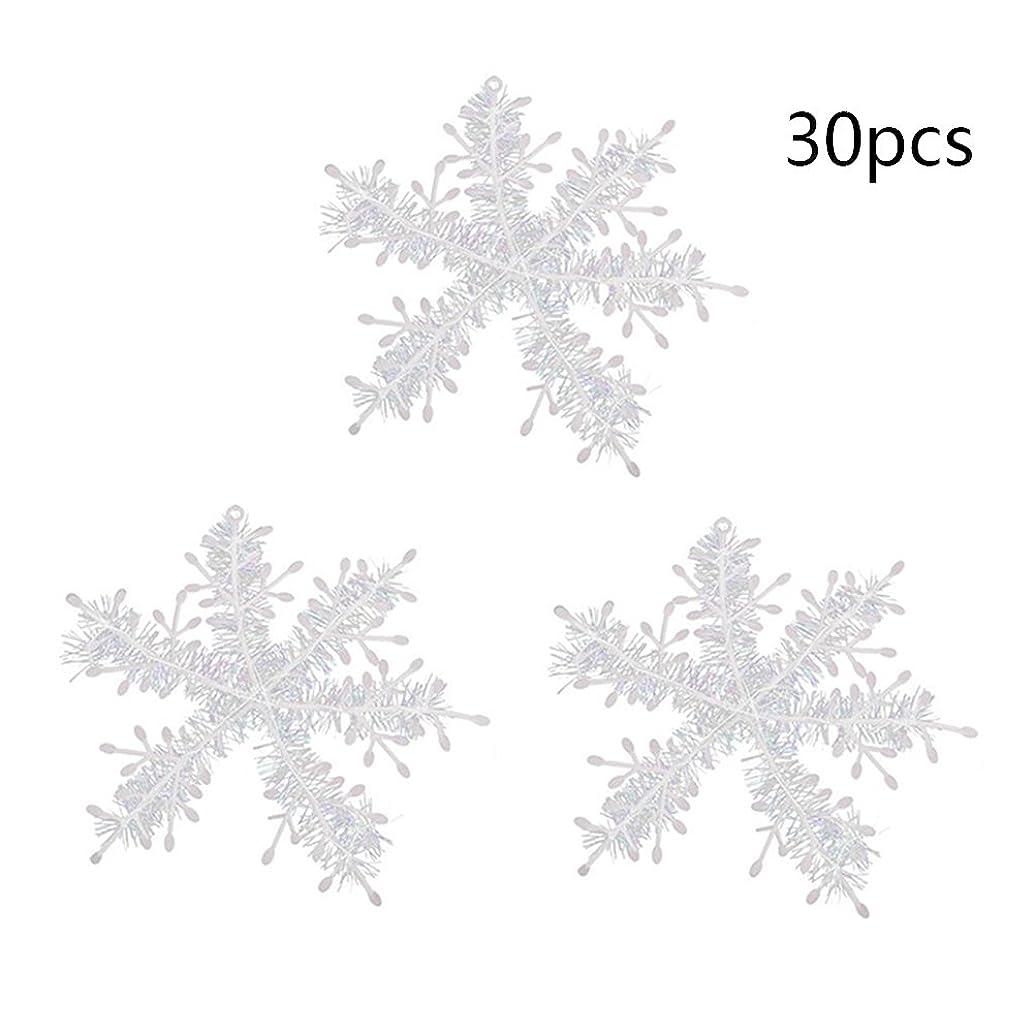 遠征ハンディウェーハ(デイリー スウィート)Daily Sweet スノーフレーク 雪の結晶 クリスマスオーナメント 飾り 11CM 30個入り