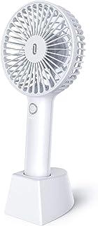 ミニ扇風機 TaoTronics 2020最新設計 携帯扇風機 USB 充電式 手持ち 卓上扇風機 最大12時間連続使用 4段階風量調節 コンパクト 軽量 熱中症 暑さ対策 小型 オフィス アウトドア用