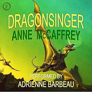 Dragonsinger audiobook cover art
