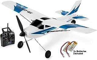 Top Race Avión de control remoto de 3 canales, construido en un sistema giroscópico de 6 ejes Súper fácil de volar RTF. TR-C285