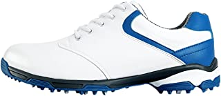 Anti-Skid Waterproof Golf Shoes with Spikes for Men