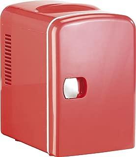 Mini réfrigérateur 2 en 1 avec prise 12/230 V - rouge [Rosenstein & Söhne]