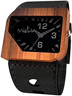Mistura AVBLKPHANT Avanti Pui Wood Black Phantom Watch