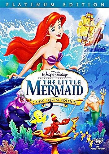 Little Mermaid (DVD, 2-Disc Set, Platinum Edition)