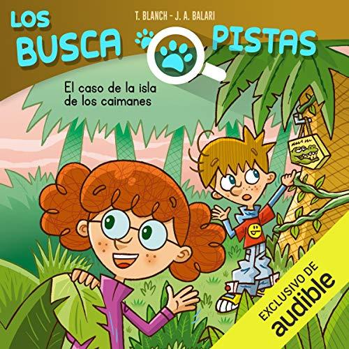 Diseño de la portada del título Buscapistas: El Caso De La Isla De Los Caimanes