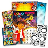 Disney Pixar COCO Activity Book Set -- Coco Coloring and Activity Book, Over 30 Stickers, 2 Posters and 2 Day of the Dead Face Tattoos