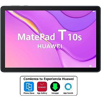 "HUAWEI MatePad T10s - Tablet de 10.1"" con pantalla FullHD (WiFi, RAM de 3GB, ROM de 64GB, procesador Kirin 710A, Altavoces cuádruples, EMUI 10.1, Huawei Mobile Services), Color Azul"