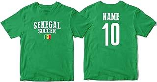 nobrand Senegal Men's Flag National Pride Man Soccer Team T-Shirt Soccer Jersey