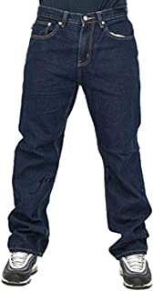 oneforus Jeans Hip Hop Uomo Hipbalu Hipster Stile Baggy Jeans con Tasche Multiple