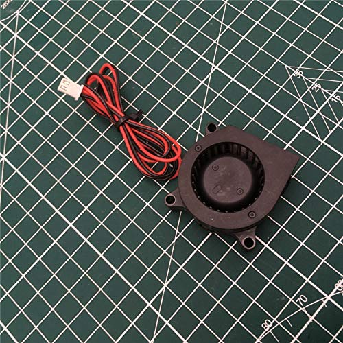 WNJ-TOOL, 1 Satz for Creality CR-10S PRO Printing Turbine Fan DC 24V Turbo Fan Gebläse Radial-Lüfter for Creality CR-10 Pro Ersatzteile