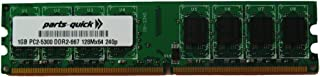 1GB Memory Upgrade for HP Business Desktop dc7600 Ultra-Slim Desktop DDR2 PC2-5300 667MHz NON-ECC DIMM RAM (PARTS-QUICK BRAND)