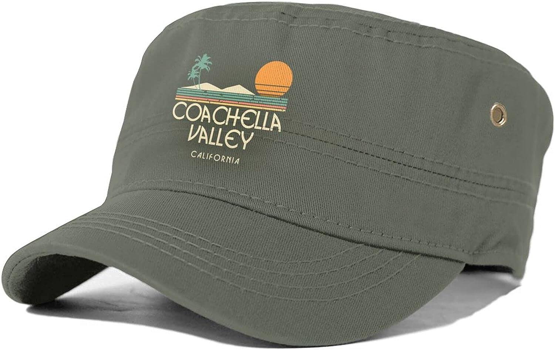Coachella Valley California Unisex Brand Cheap Luxury Sale Venue Adult C Sun Cap Flat Top