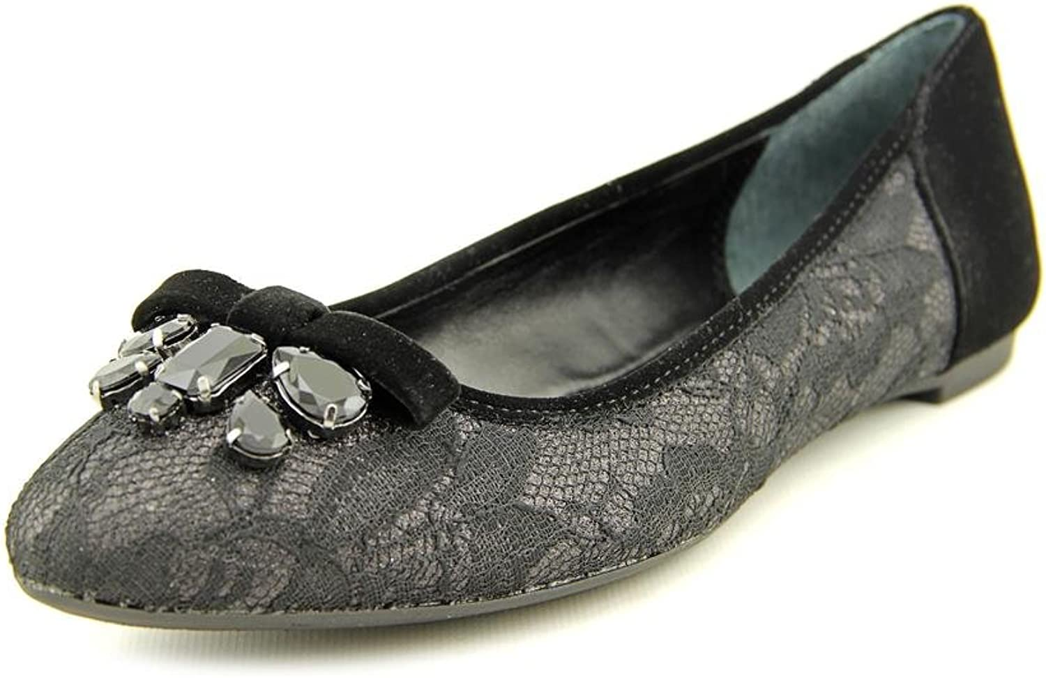 Material Girl Womens Blaire6 Open Toe Special Occasion, purplec Mirror, Size 10.0