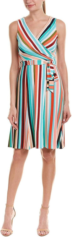 women Morgan Womens Faux Wrap Jersey Dress Casual Dress