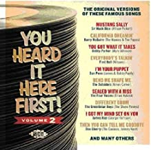 You Heard It Here First Volume 2 Original Versions of Famous Songs