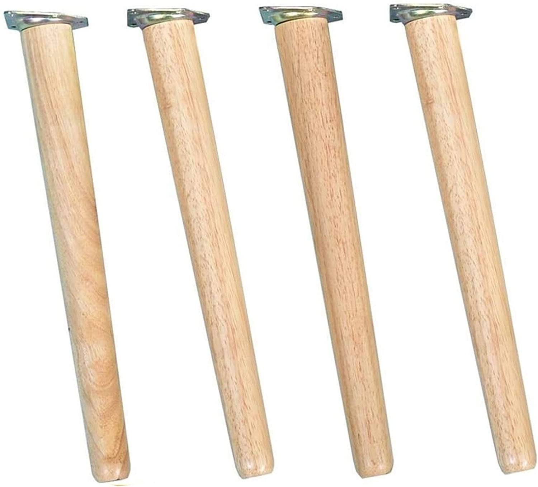 Furniture 4X Legs Max 59% OFF Solid Tabl Wood Beech Super sale