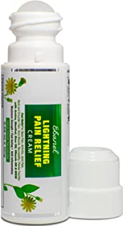 Ebanel Pain Relief Roll On, 3.56 Oz Arnica Menthol Arthritis Pain Relief Muscle Rub with MSM, Emu Oil, Hemp...