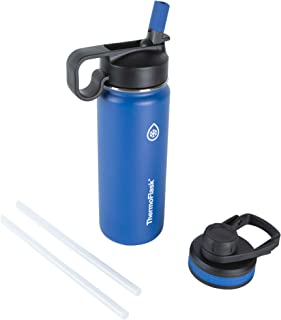 Thermoflask 50057 Double Stainless Steel Insulated Water Bottle, 18 oz, Cobalt