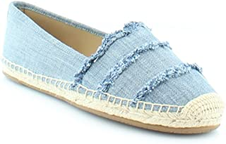 Michael Michael Kors Womens Tibby Fabric Closed Toe Loafers