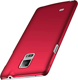 Anccer Colorful Series for Samsung Galaxy Note 4 Case Ultra-Thin Fit Premium PC Material Slim Cover for Samsung Note 4 Red Samsung Galaxy Note 4