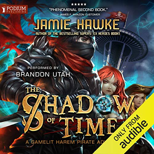 The Shadow of Time (Lost Pirates, Book 2) - Jamie Hawke