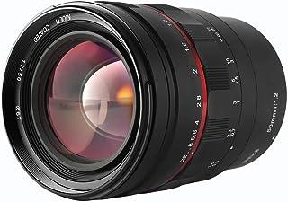 Meike 50 mm F1.2 Lente de fotograma Completo Manual con Gran Apertura, Ideal para fotografía de Retrato, L-Mount