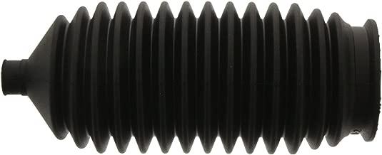 Febi 18043 Fuelle de dirección, goma, Negro