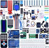 Quimat Project Super Starter Kit with Tutorial, Controller Board, LCD1602, Servo, Stepper Motor for Kit