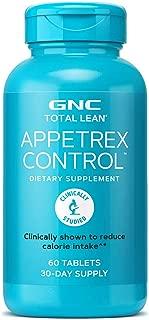 GNC Total Lean Appetrex Control, 60 Tablets, Reduces Calorie Intake