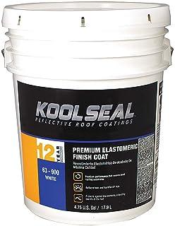Kst Coatings Elastomeric Roof Coating 4.75 gal White