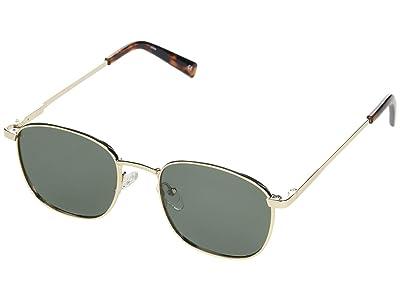 Le Specs Neptune Deux (Gold/Khaki Mono Polarized) Fashion Sunglasses