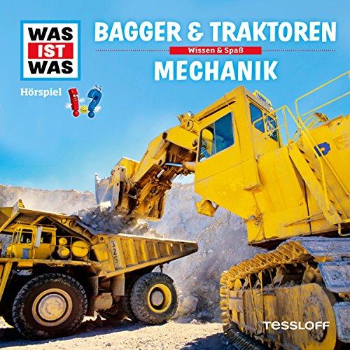 Bagger und Traktoren / Mechanik (Was ist Was 46) Titelbild