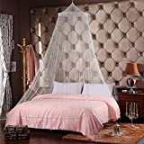 GOLF, White Jumbo Mosquito Net for Bed, Queen Size, 1