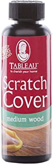 Tableau Wood Scratch Cover, 100ml - Covers Up Chips and Scratches on Any Wood Surface - Medium Wood Shade