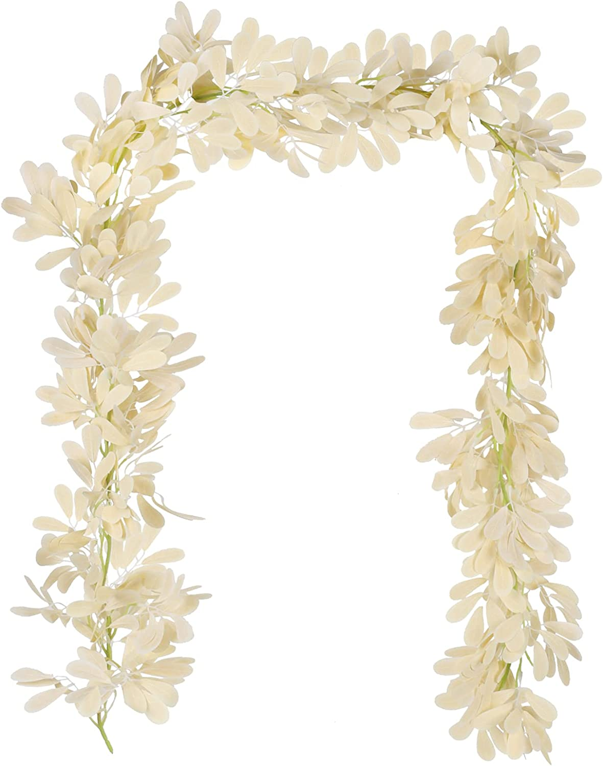 Free shipping Now free shipping XHXSTORE Artificial Lambs Ear Leaf Plant Vines Garlands Art