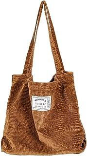 YARUODA Women Shoulder Handbags Casual Hobo Bags Corduroy Shopper Tote Bag
