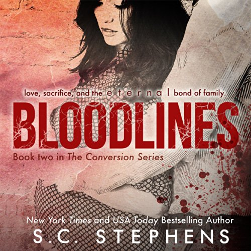 Bloodlines audiobook cover art