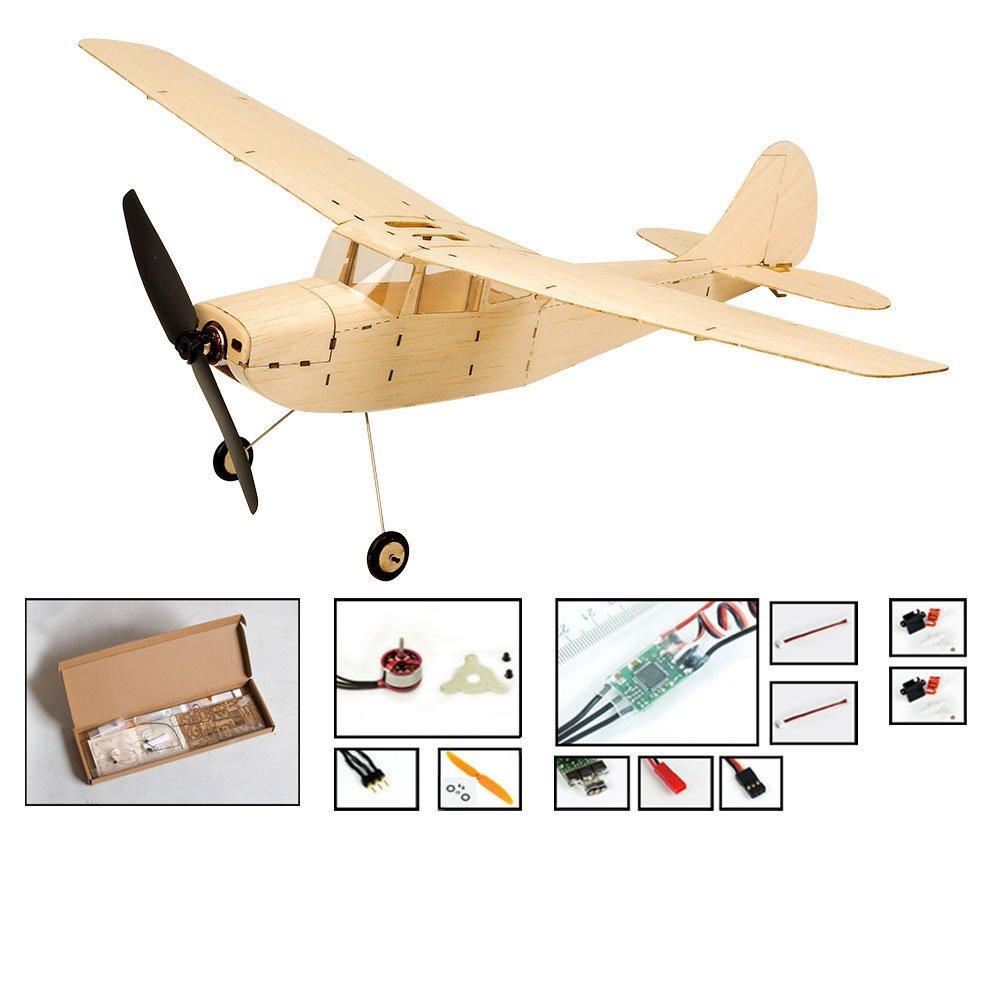 Viloga Balsa Wood Model Plane Mini Tiger Moth Biplane, 39